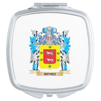 Romei Coat of Arms - Family Crest Vanity Mirrors