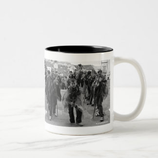 Romeiros pilgrims Two-Tone coffee mug