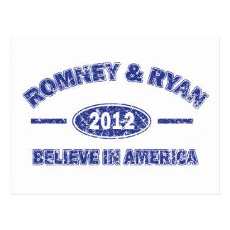 Romeny Ryan Postcard