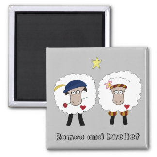 Romeo and Eweliet 2 inch magnet