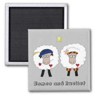 Romeo and Eweliet 2 inch magnet