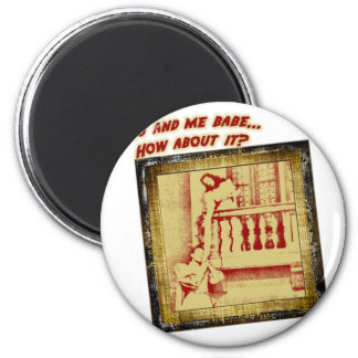 Romeo and Juliet 2 Inch Round Magnet