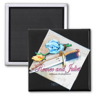Romeo and Juliet 2 Inch Square Magnet