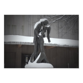 Romeo and Juliet, A Winter Embrace, Central Park Card