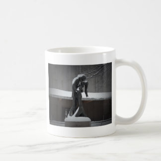 Romeo and Juliet, A Winter Embrace, Central Park Coffee Mug