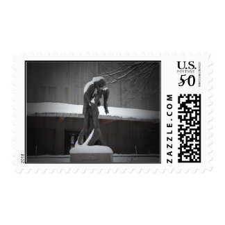 Romeo and Juliet, A Winter Embrace, Central Park Postage