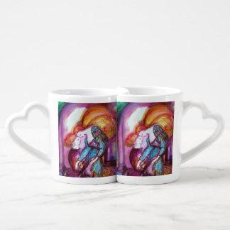 ROMEO AND JULIET BALCONY SCENE,Valentine's Day Coffee Mug Set