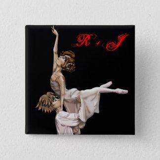 Romeo and Juliet Ballet Button