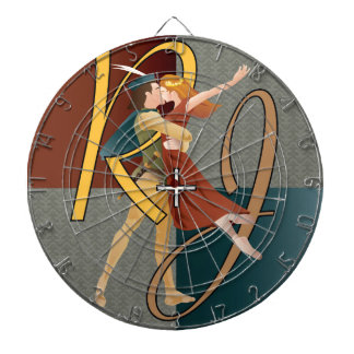 Romeo and Juliet, ballet Dartboard With Darts