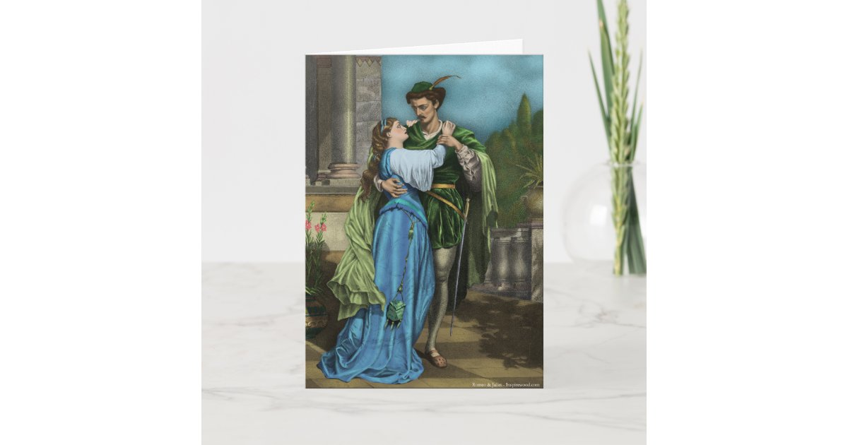 Romeo And Juliet Wedding Invitations: Romeo And Juliet Card