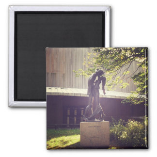 Romeo and Juliet, Central Park, New York City 2 Inch Square Magnet