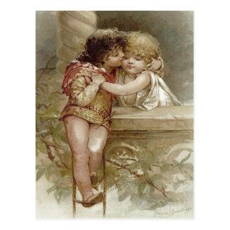 Romeo And Juliet Frances Brundage Valentine Postcard