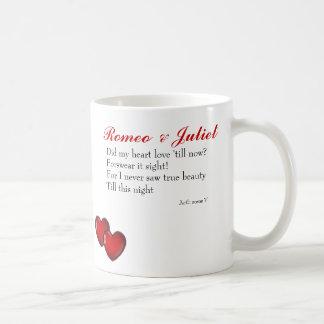 Romeo and Juliet Classic White Coffee Mug