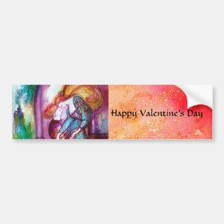 ROMEO AND JULIET / Pink Valentine's Day Bumper Sticker