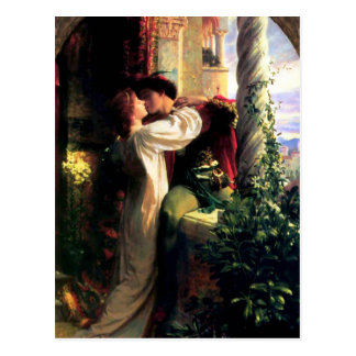 Romeo and Juliet Postcard
