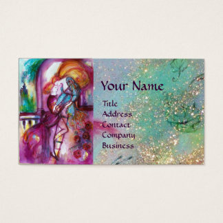 ROMEO AND JULIET Romantic Valentines's Day Business Card