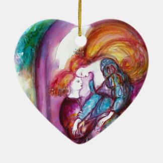 ROMEO AND JULIET Romantic Valentines's Day Ceramic Ornament