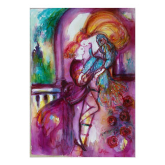 ROMEO AND JULIET Romantic Valentines's Day Poster