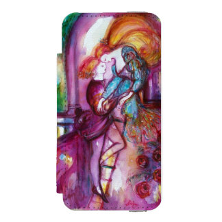 ROMEO AND JULIET Romantic Valentines's Day Wallet Case For iPhone SE/5/5s