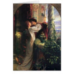 Romeo and Juliet Stationery Note Card