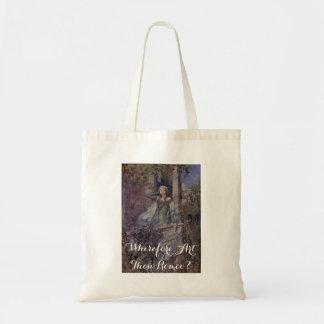 """Romeo and Juliet """"Wherefore Art Thou Romeo"""" Tote Bag"""