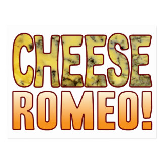 Romeo Blue Cheese Postcard