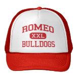 Romeo - Bulldogs - High School - Romeo Michigan Trucker Hat