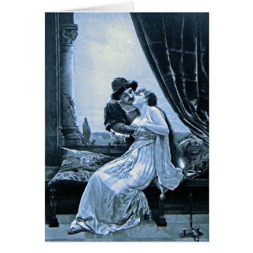 ~ Romeo de la tarjeta    de felicitación y