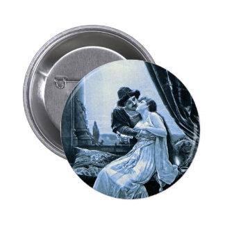 Romeo del botón y fotograbado de Juliet Pin