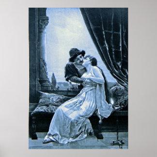 ~ Romeo del poster y fotograbado de Juliet