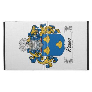 Romeo Family Crest iPad Case