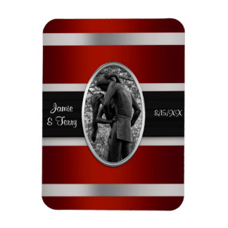 Romeo & Juliet, Central Park NYC Save the Date Rectangular Photo Magnet
