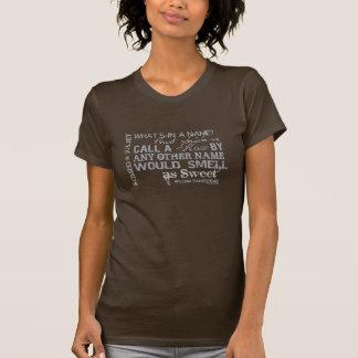 Romeo & Juliet Name Quote T-Shirt