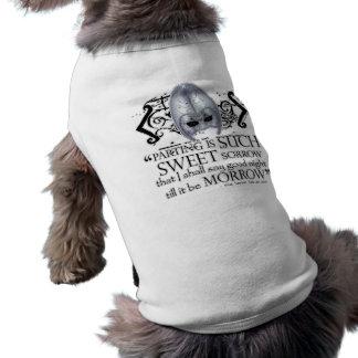 Romeo & Juliet Quote Dog Tshirt