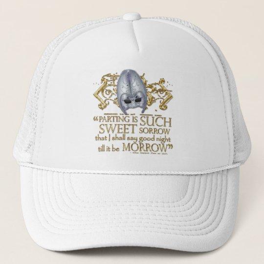 Romeo & Juliet Quote (Gold Version) Trucker Hat