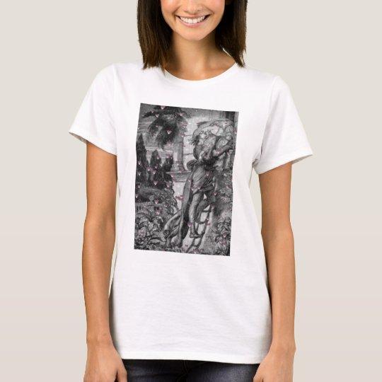 Romeo & Juliet Vintage Valentine Hearts T-Shirt