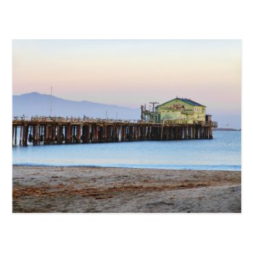 Beach Themed Romeo Pier Postcard