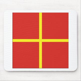 Romeo (R) Signal Flag Mouse Pad