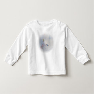 Romeo the white Van cat with tongue out Toddler T-shirt