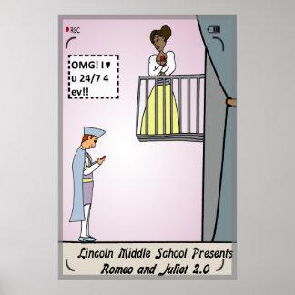 Romeo y Juliet 2,0 Poster