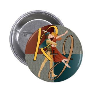 Romeo y Juliet, ballet Pin Redondo 5 Cm