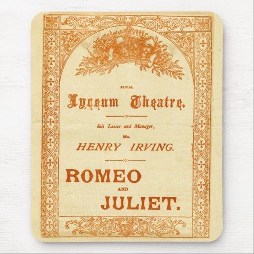Romeo y Juliet de Henry Irving Tapete De Ratón