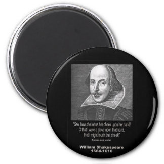 ~ Romeo y Juliet de la cita de Shakespeare Imán Para Frigorífico