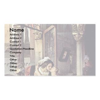 Romeo y Juliet, por Hayez Francisco Tarjetas De Visita