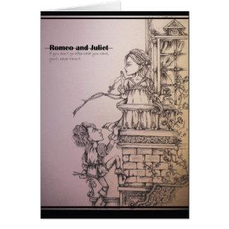 Romeo y Juliet Tarjeta De Felicitación