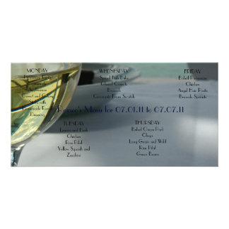 Romeo's Sample Menu Card