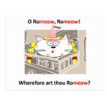 Romeow Postcard