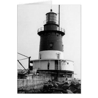 Romer Shoal Lighthouse Greeting Cards