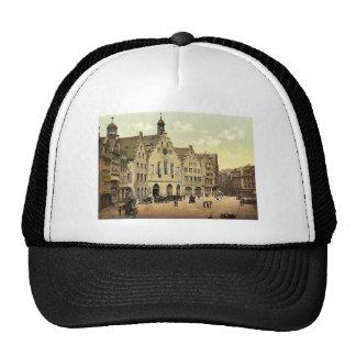 Romerberg with Romer, Frankfort on Main (i.e. Fran Trucker Hat