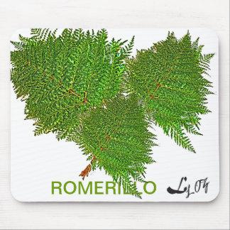 ROMERILLO PLANTS BY LIZ LOZ MOUSE PAD